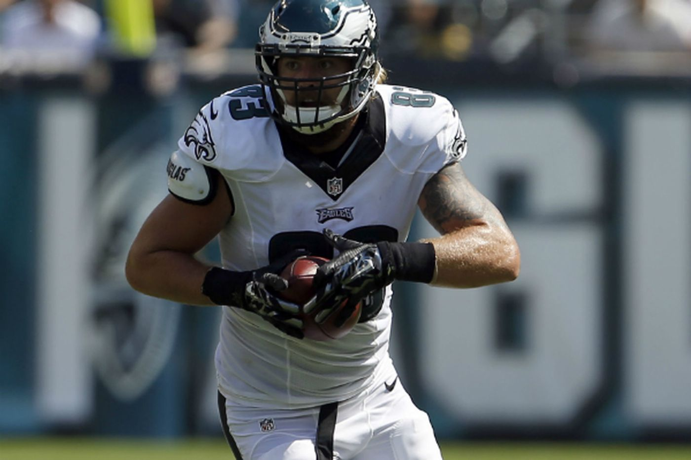 official photos d4dfc 36746 Rookie TE Eric Tomlinson impressing Eagles