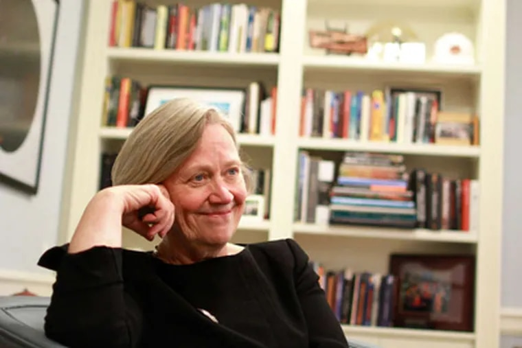"""Shirley Tilghman, who has led Princeton since 2001, says """"academia is a place where women really thrive."""" DAVID SWANSON / Staff"""