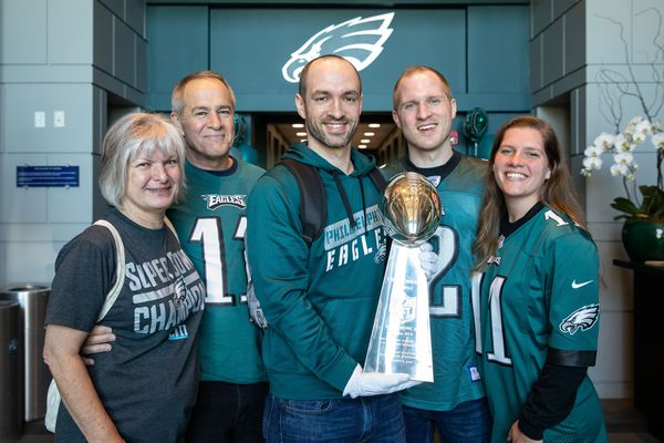 Eagles fan wins a decade of season tickets after missing out in NFL's lifetime contest