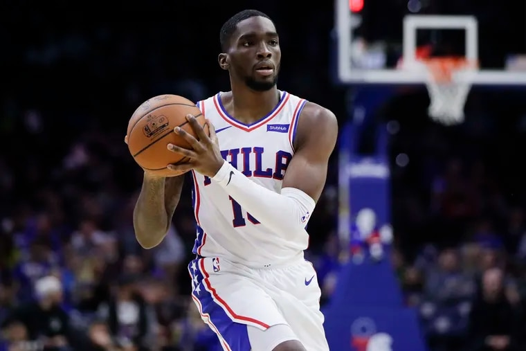 Shake Milton will be re-examined following the Sixers upcoming four-game road trip.