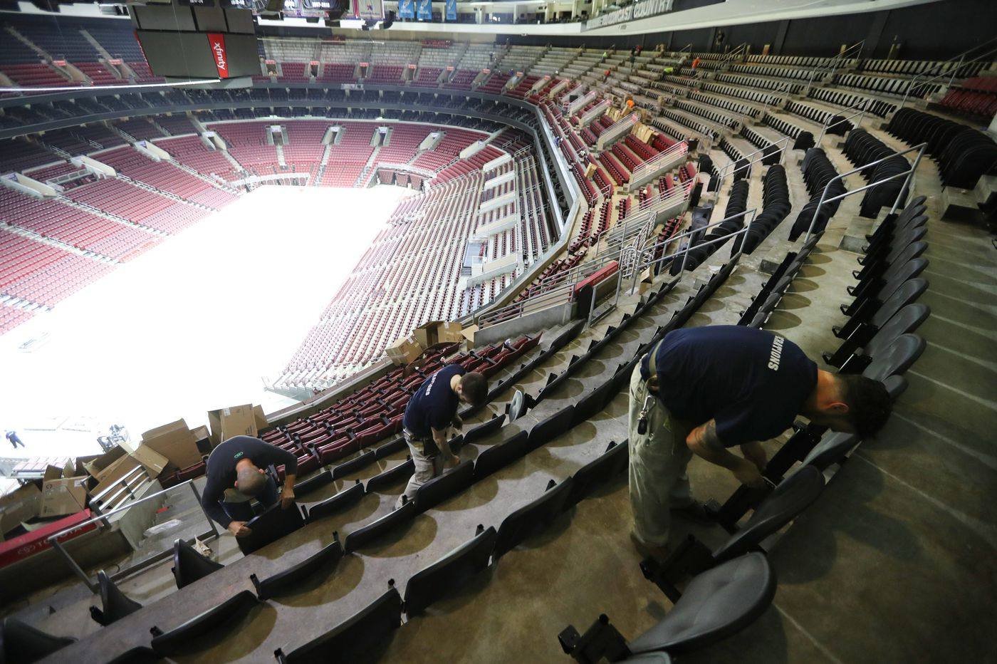 As Philadelphia changes, Wells Fargo Center tries to change with it