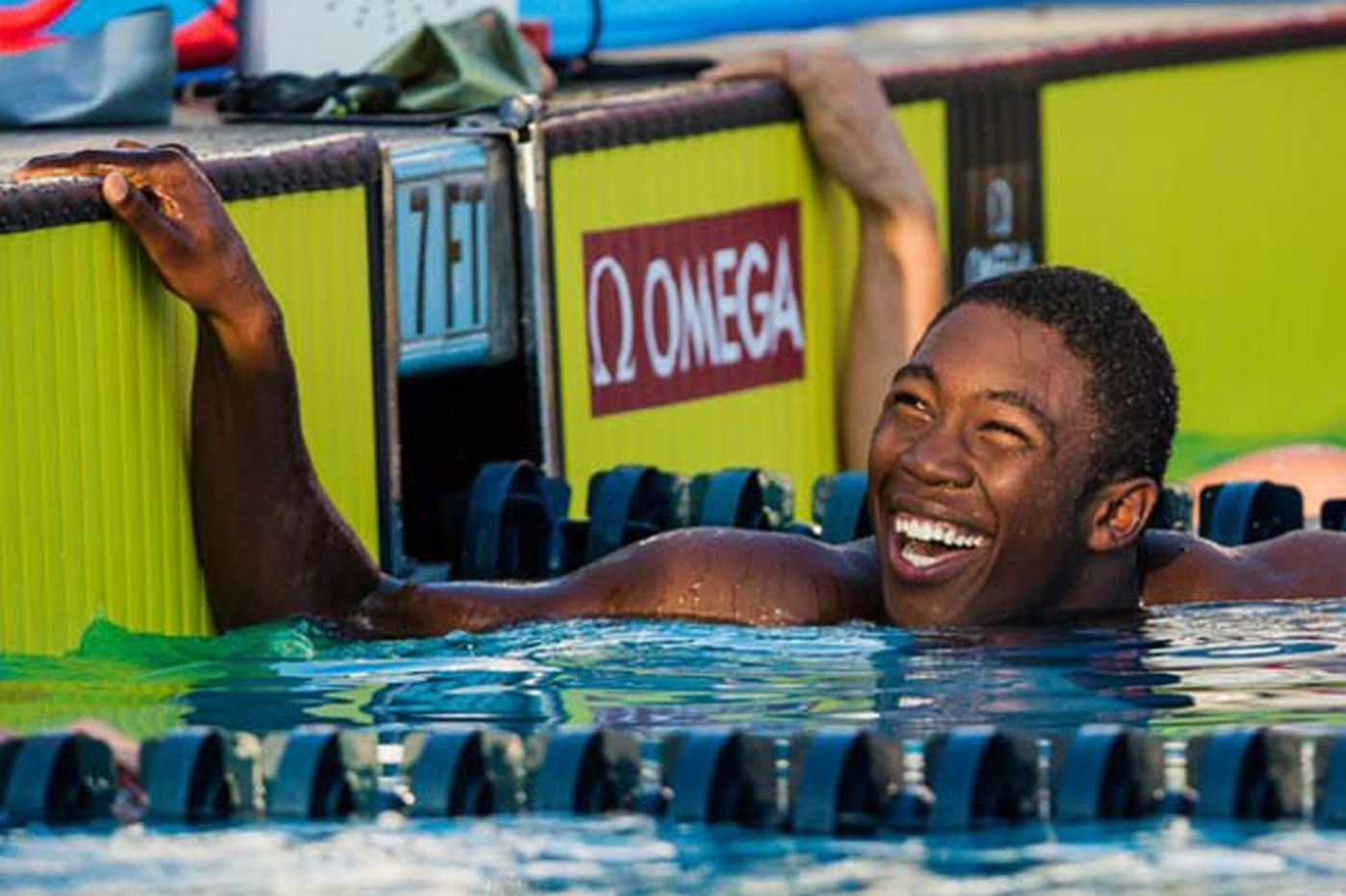 Lafayette Hill swimmer Reece Whitley makes a splash at 14