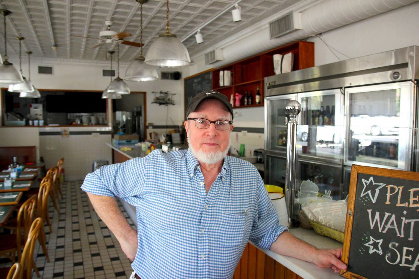 Don't count out chef Paul Roller, even with shaky knees