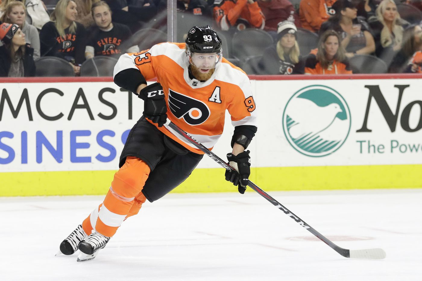 Jake Voracek moved to Sean Couturier's line; Scott Laughton returning Saturday for Flyers