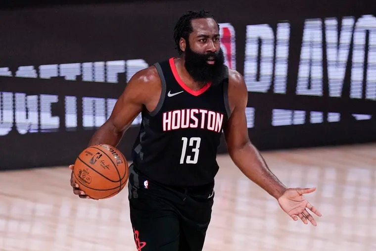 James Harden is open to being traded to the Sixers.