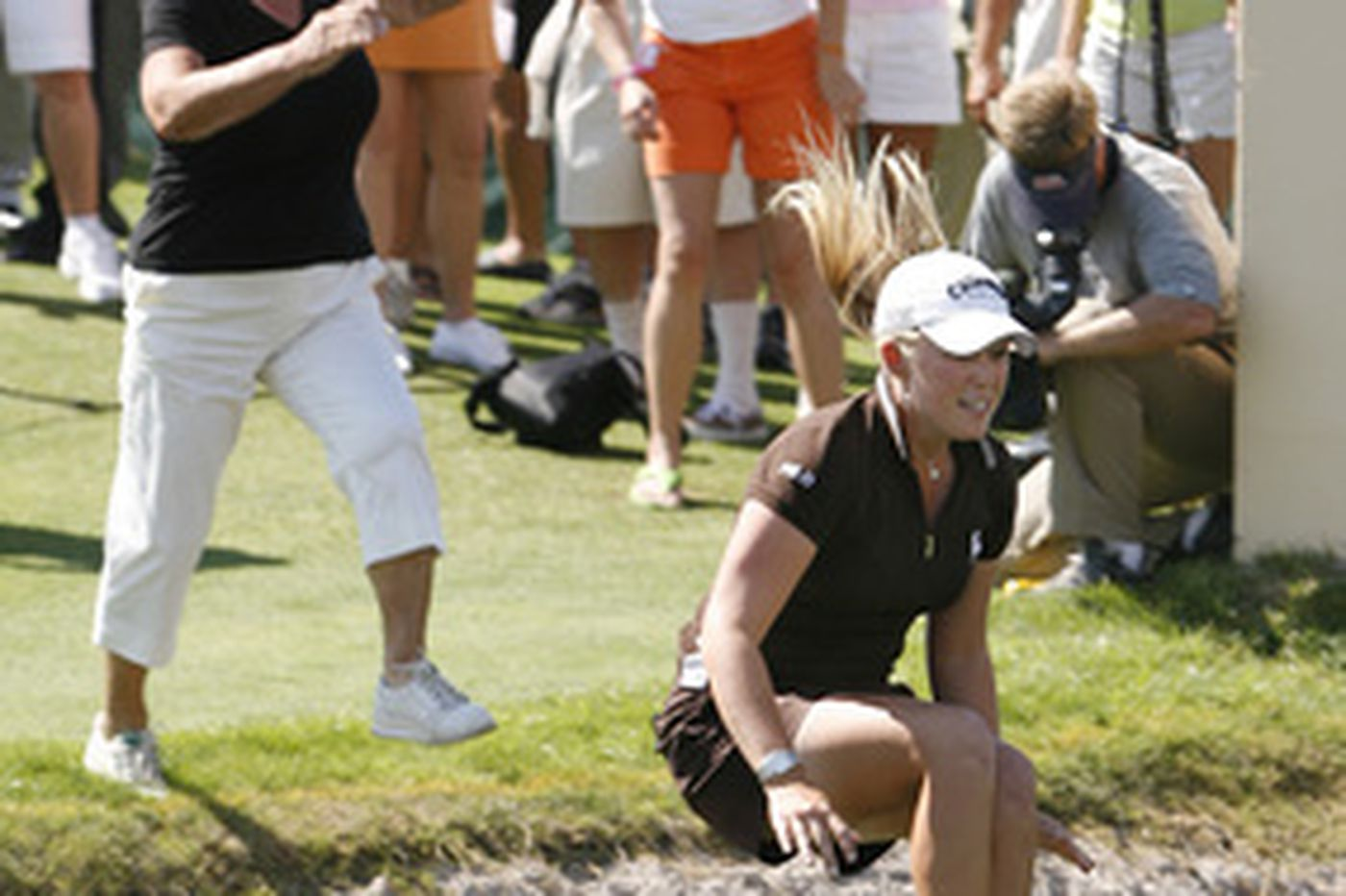 Pressel not too young to win