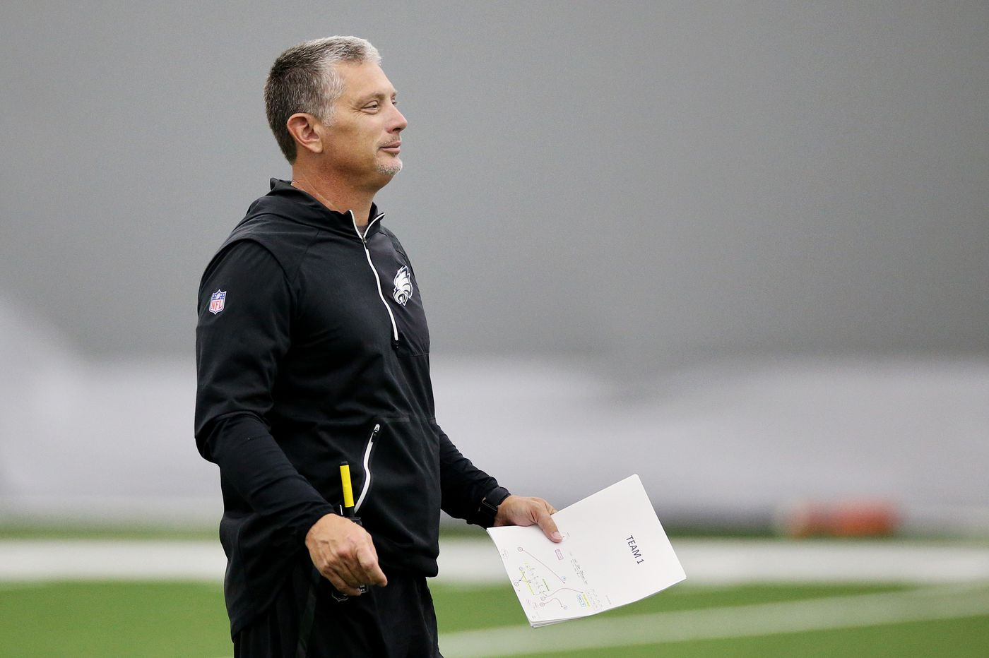 Jim Schwartz went all-out against the Falcons. With a banged-up front four, will that continue? | David Murphy