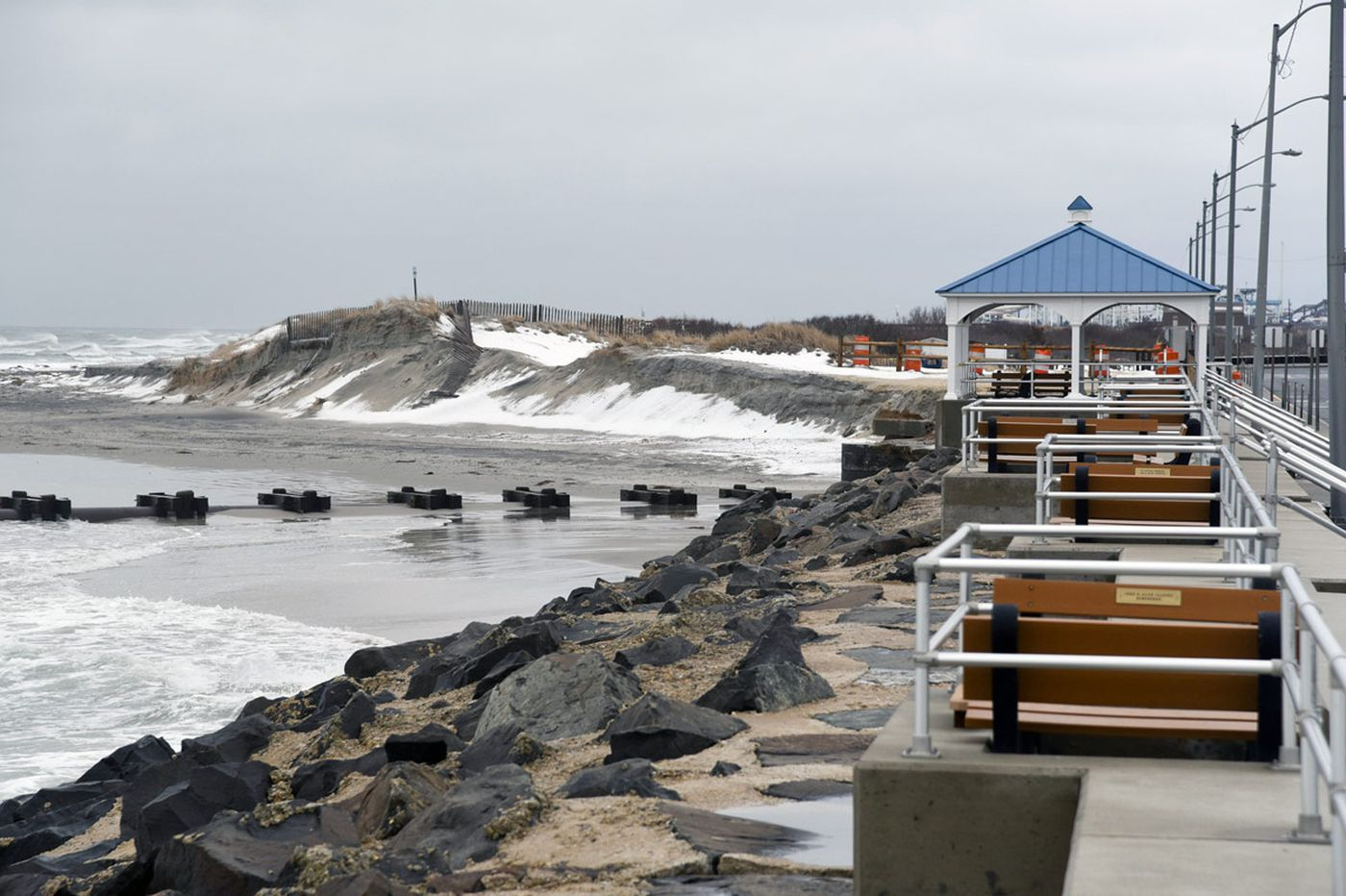 Shore towns rush to replenish beaches for summer