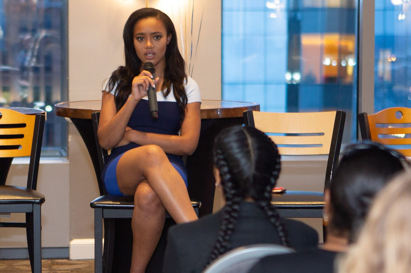 Meet the youngest woman ever to work at the New York Stock Exchange