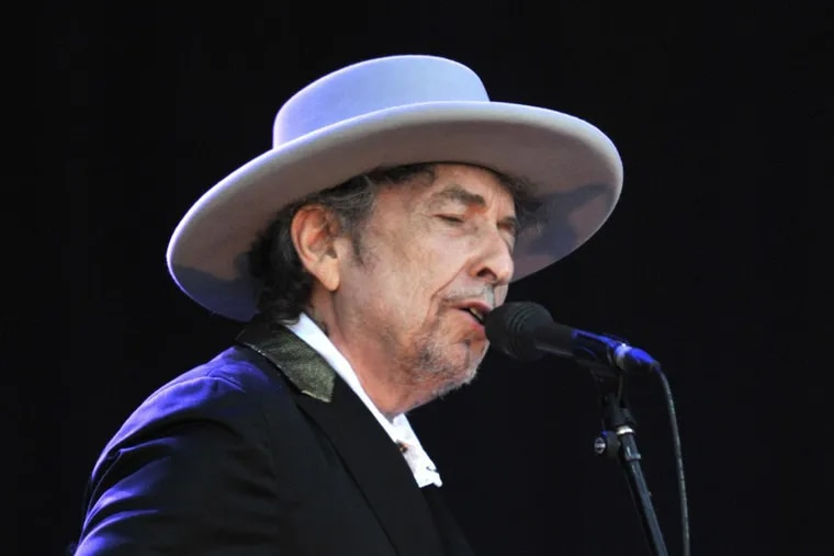 Bob Dylan in France in 2012. He played the Tower Theater on Saturday and Sunday nights.