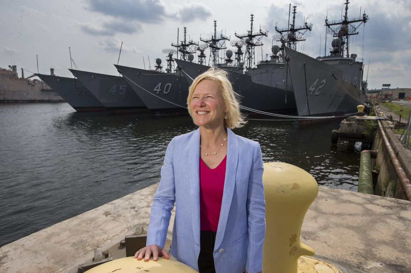 Ex-Naval Surface Warfare Center chief engineer designs a new career: Drawing women into STEM