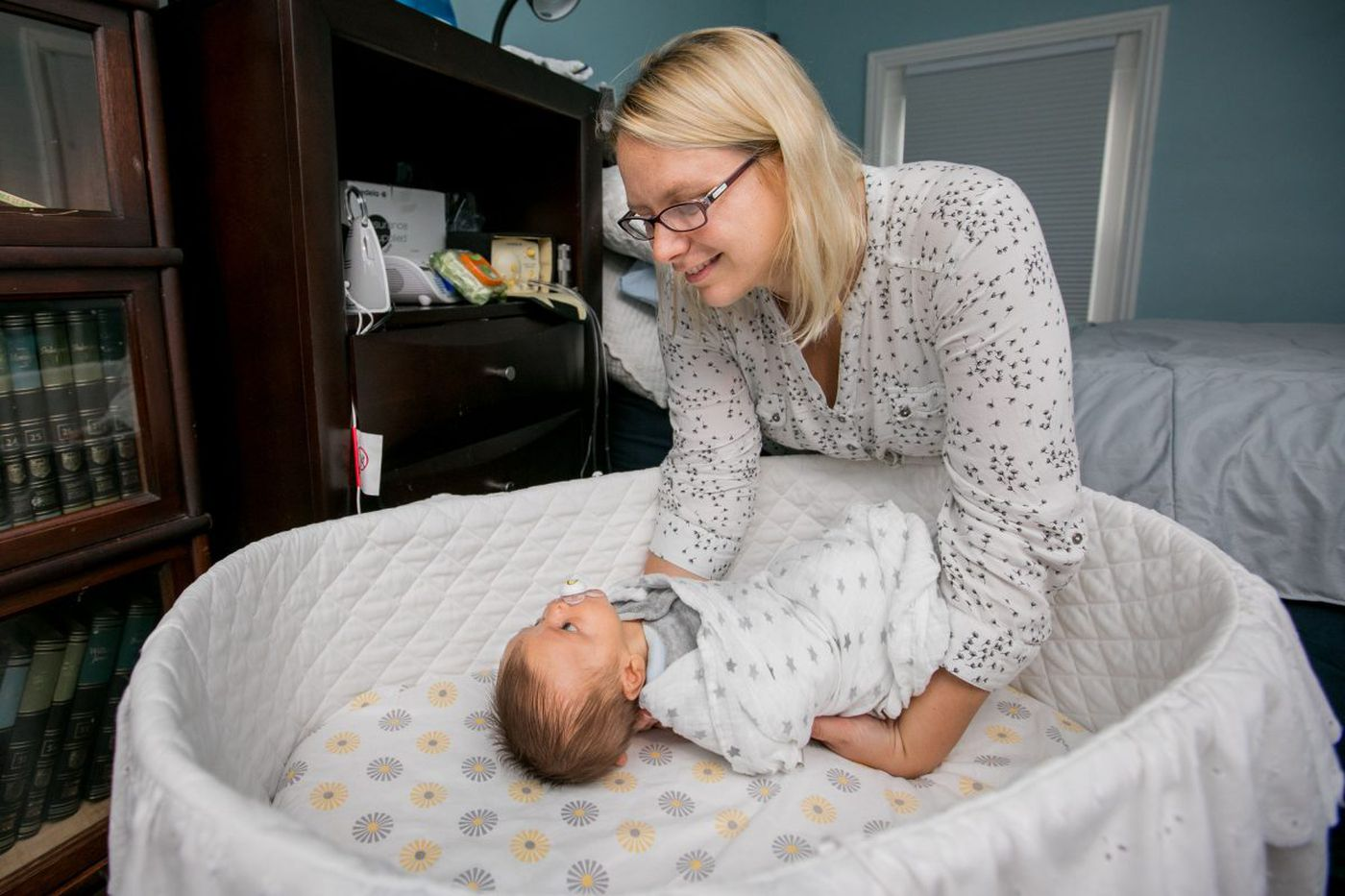 Penn State study questions longer room sharing for newborns and parents