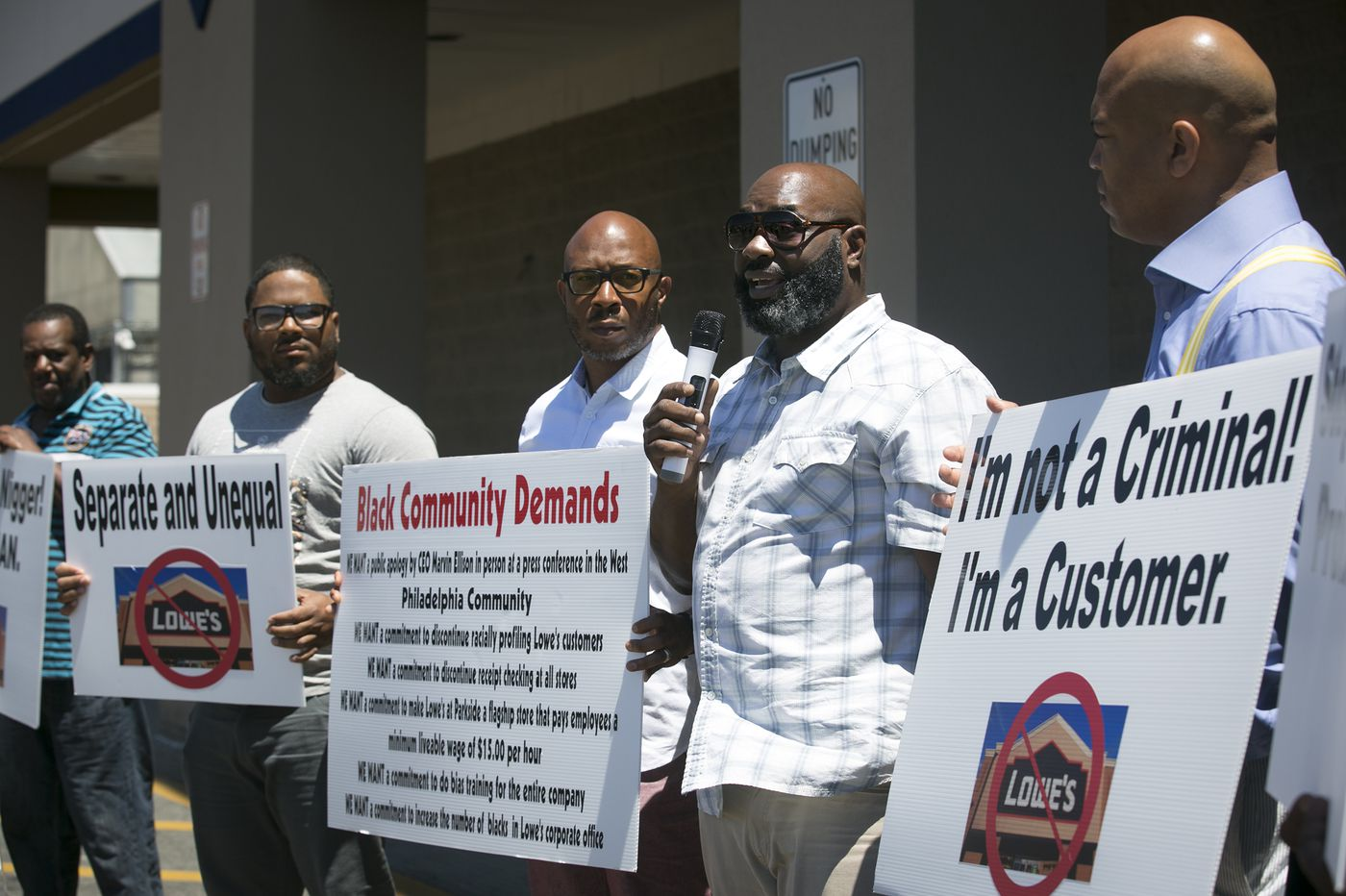 Why Philly men who say Lowe's racially profiled them are urging a boycott