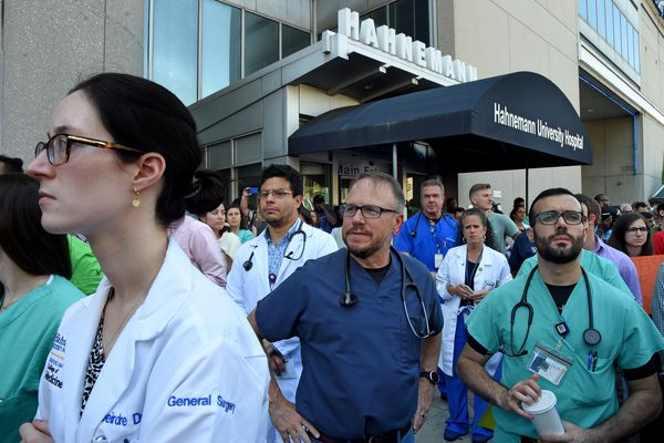 For some Hahnemann medical residents, there's an added stress: Potential deportation