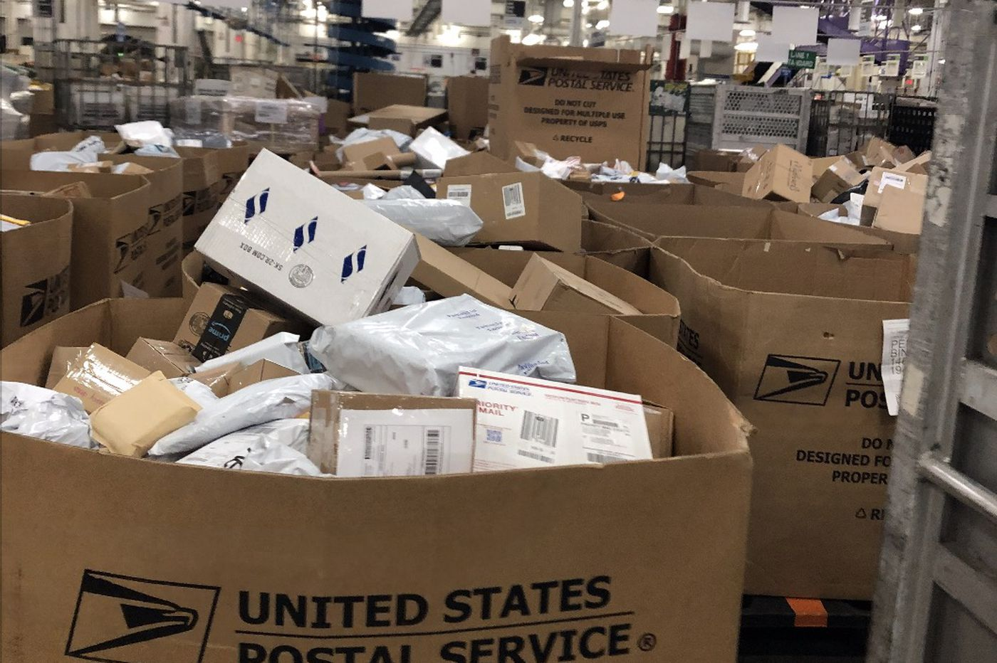 Thousands of delayed packages are piled up at Pa. Postal Service facilities: 'You're not gonna get your Christmas presents'