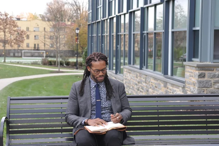 Brendon Jobs, director of diversity & inclusion at The Haverford School, on campus November 20, 2019.