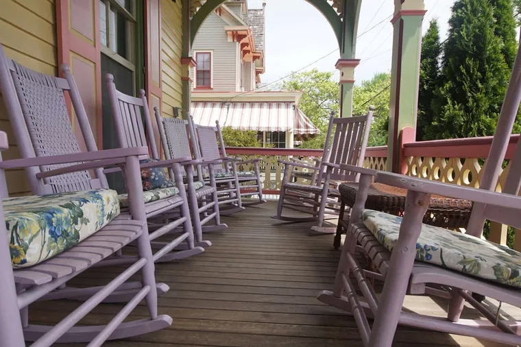 The writer returns to Cape May, where porches are wide, rockers are plenty, and memories grow vivid.