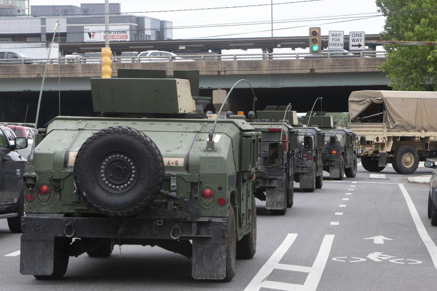 Pa. sending 500 more National Guard troops to Philadelphia area in a messy scramble   Maria Panaritis