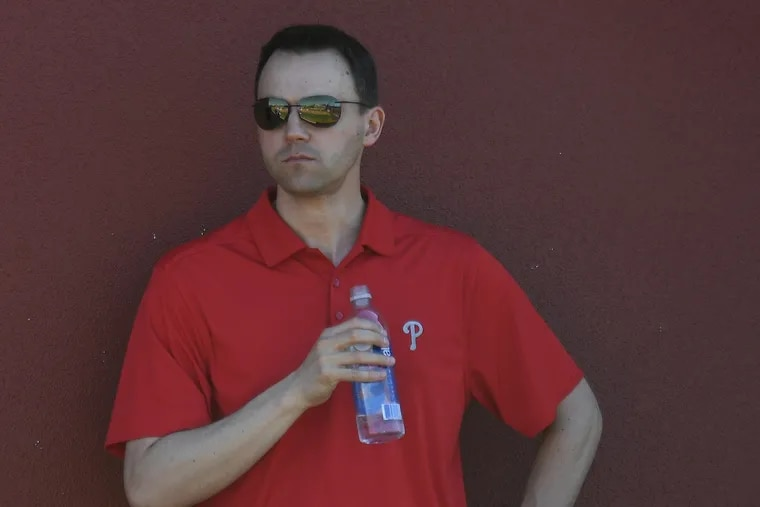 """Phillies general manager Matt Klentak said of his team's season: """"The last six weeks have been awful."""""""
