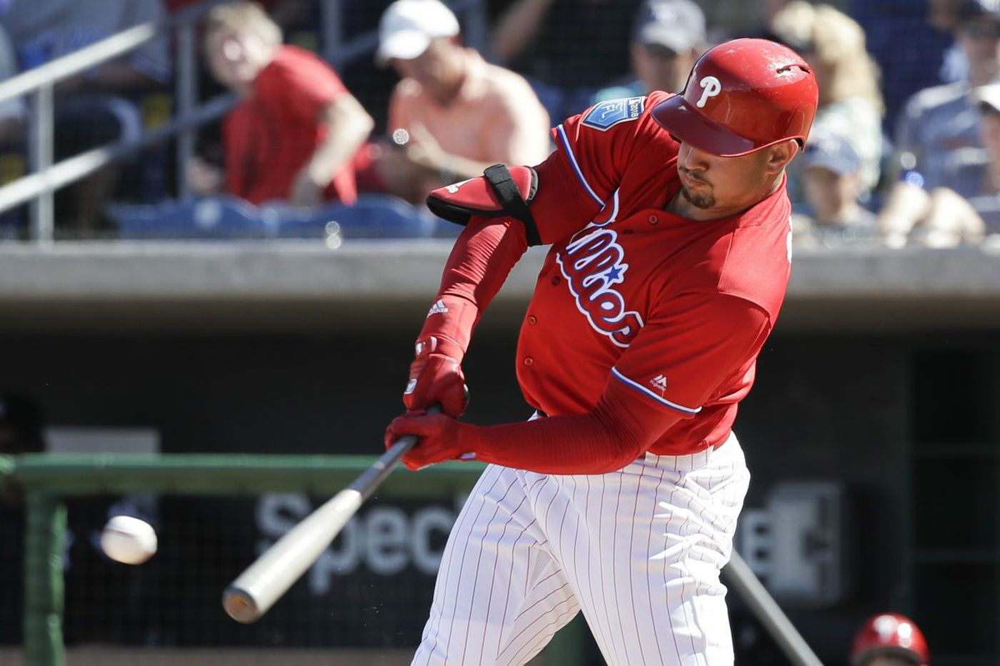 Phillies drop first spring meeting with Yankees