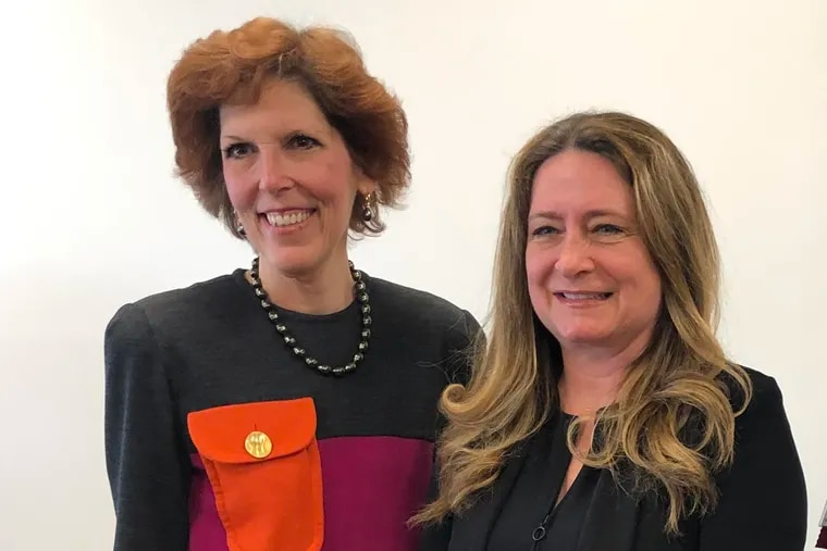 In an event by The Forum of Executive Women, Loretta J. Mester, (left) president and chief executive officer of the Federal Reserve Bank of Cleveland, discussed her views on the U.S. economy. Lara Rhame, Chief U.S. Economist and Managing Director at FS Investments (right) moderated.