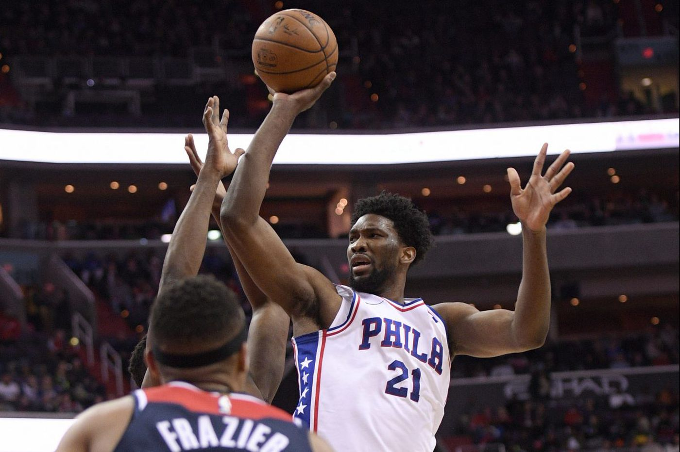 Sixers-Wizards observations and 'best' and 'worst': Joel Embiid's 31st double-double, poor shooting, horrid team play