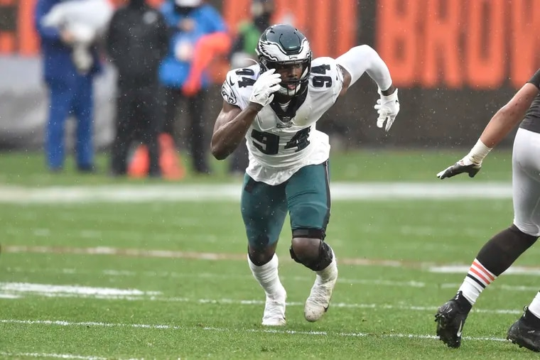 Eagles sign Josh Sweat to three-year contract extension worth up to $42 million