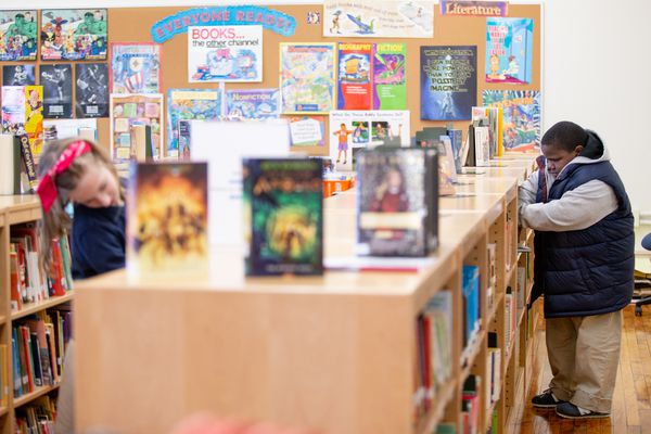A Philly miracle: Amid closures, this elementary school is reopening its library