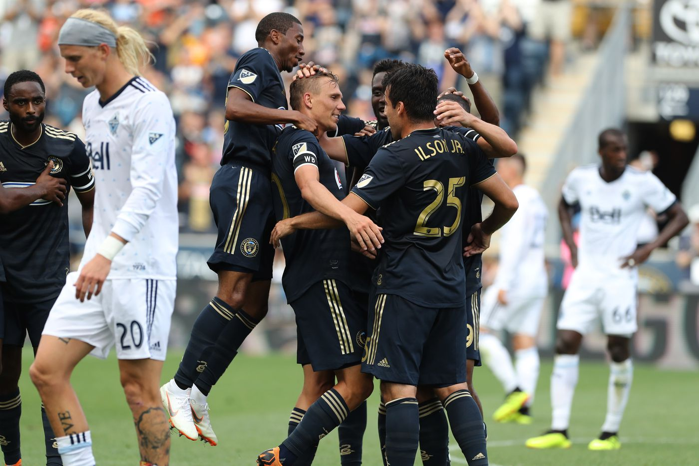 Borek Dockal, Ilsinho star in Union's 4-0 win over Vancouver Whitecaps
