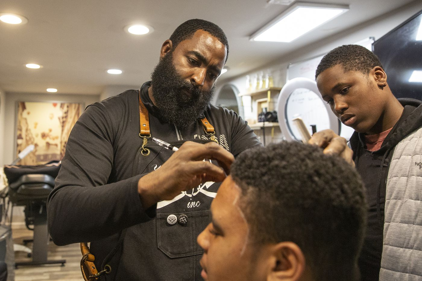 North Philly's Jr. Barber Academy teaches kids the basics of barbering and entrepreneurship