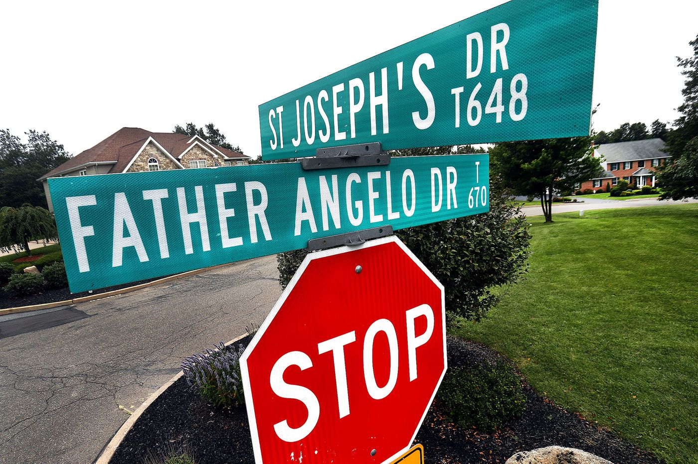 After Pa. Catholic priest abuse report, a town grapples with a street name