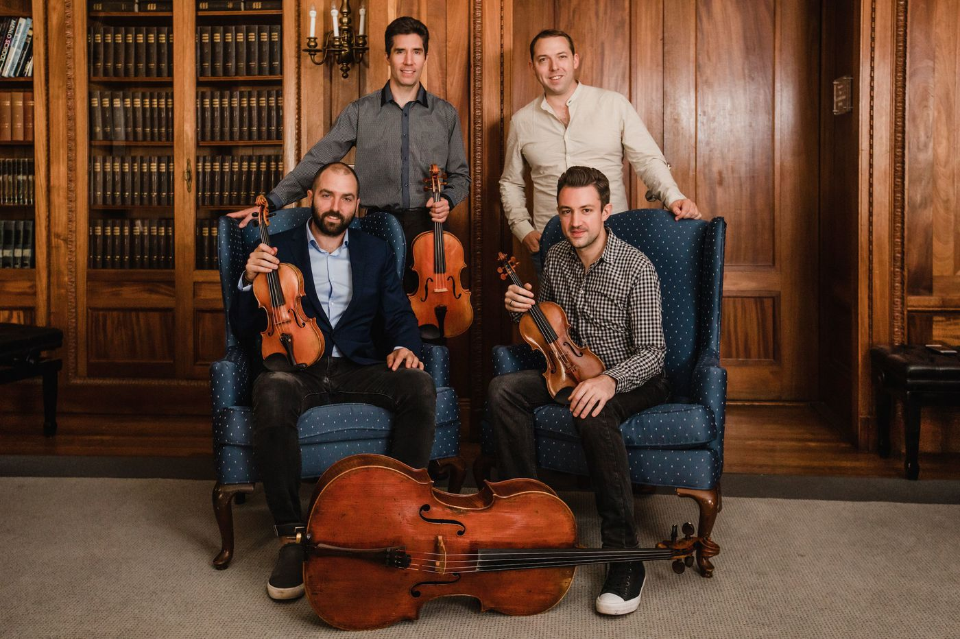 At PCMS, Dover and Escher show two string quartets are better than one