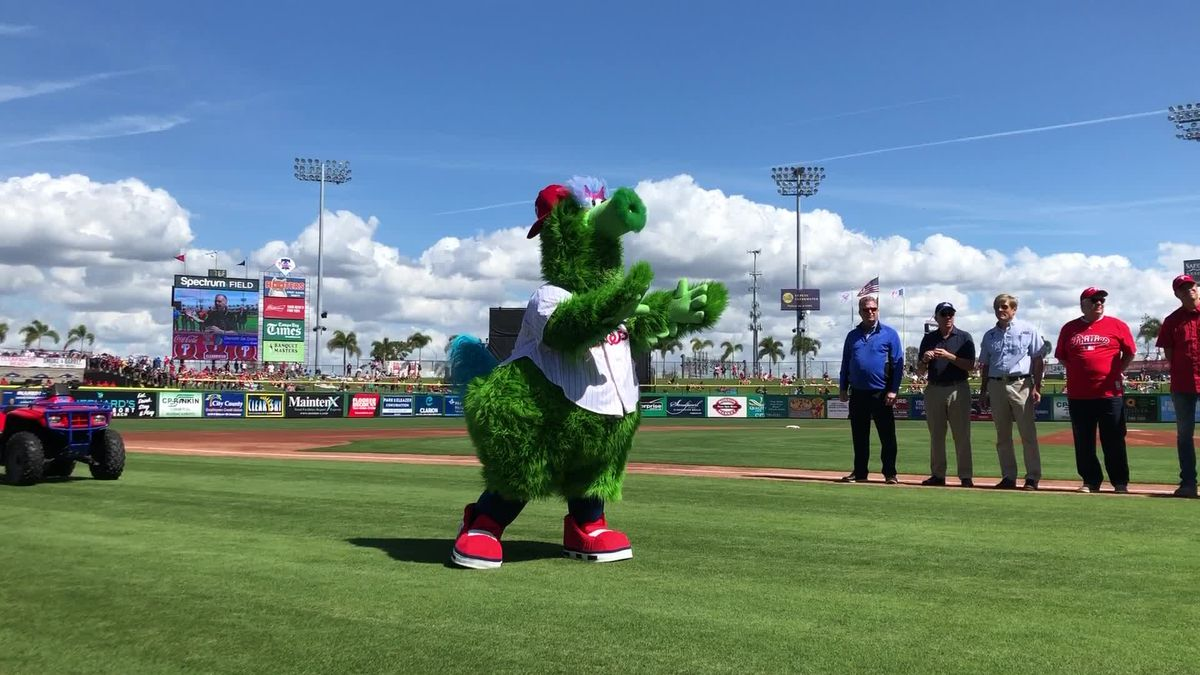 New look for Phillie Phanatic