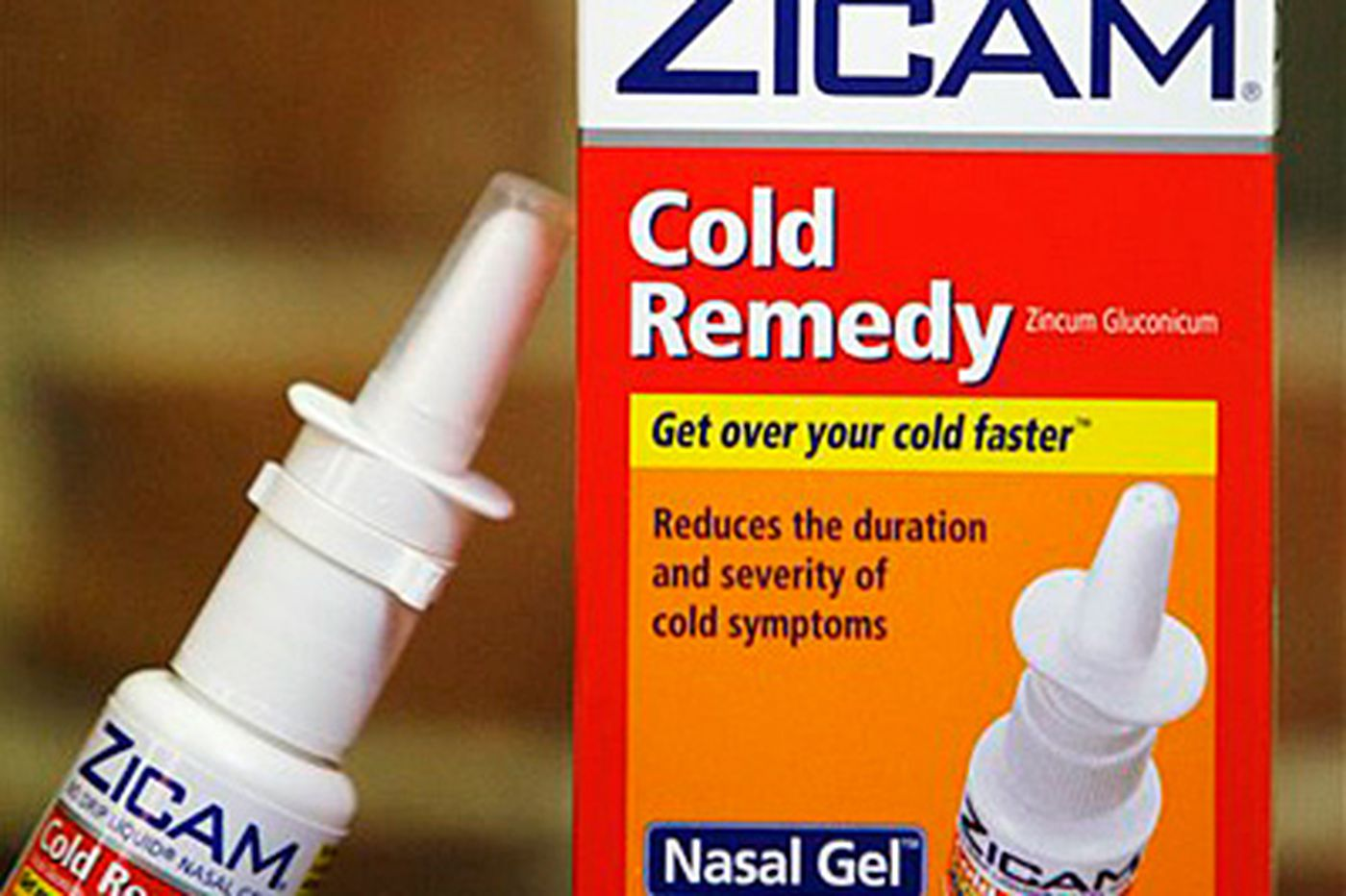 FDA says Zicam can cause loss of smell