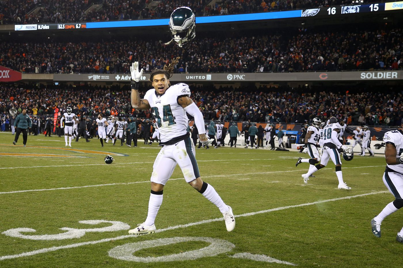 Cornerback Cre'Von LeBlanc feels he was chosen by fate, and by the Eagles, who desperately needed him