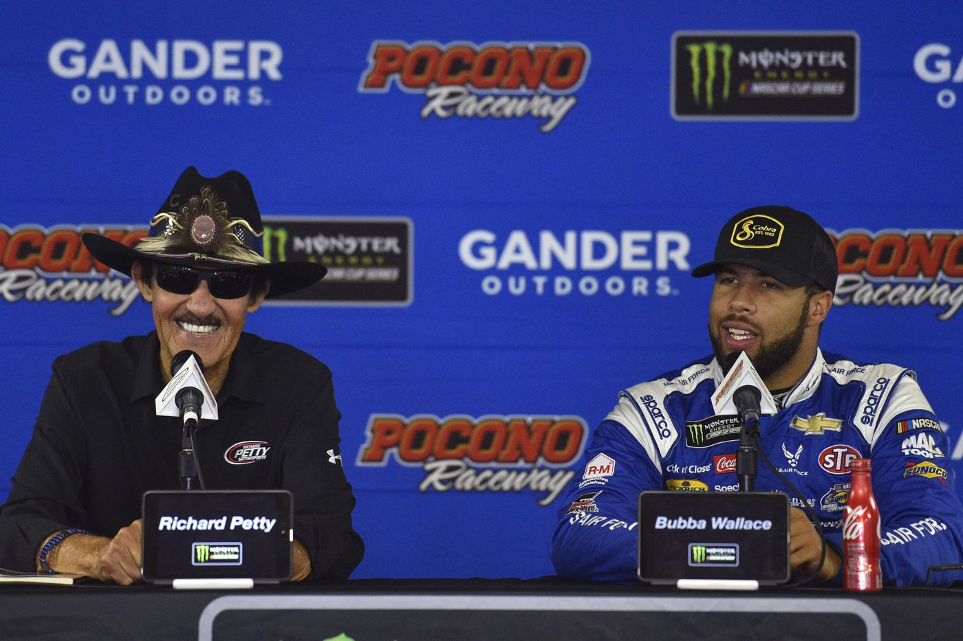 """Richard Petty believes keeping rookie Darrell """"Bubba"""" Wallace will pay off in the future"""