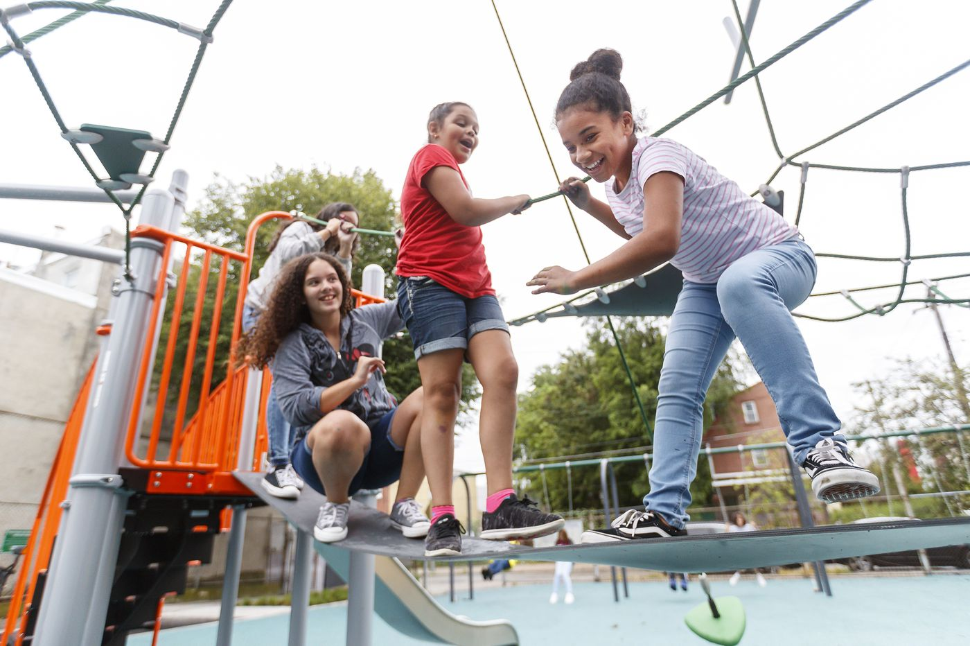 New play area opens at Fishtown Rec Center — the first completed project tied to Mayor Kenney's Rebuild initiative