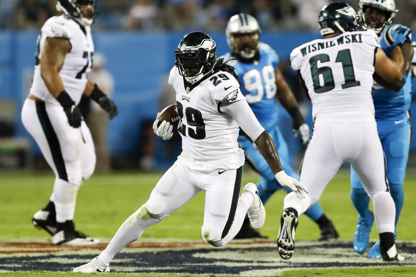 What did we learn from the Eagles' big win over the Panthers?