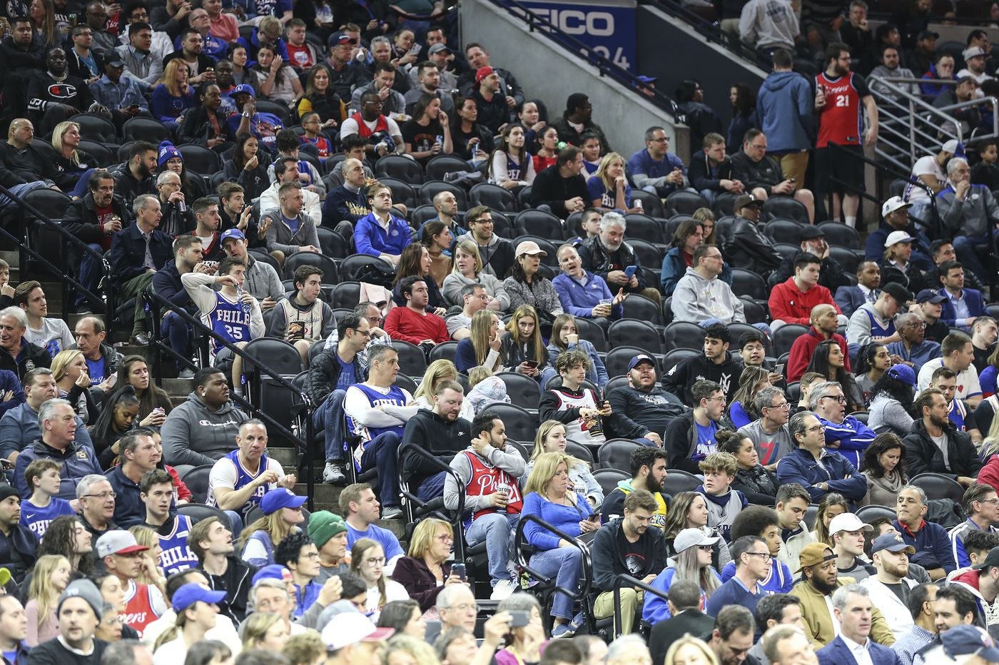 With Warriors playing a game with no fans, Sixers and others ponder the situation