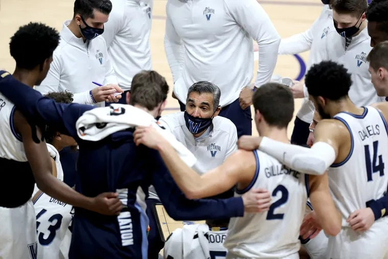 Coach Jay Wright and his Villanova Wildcats have had four games postponed due to COVID issues encountered by their opponents so far.