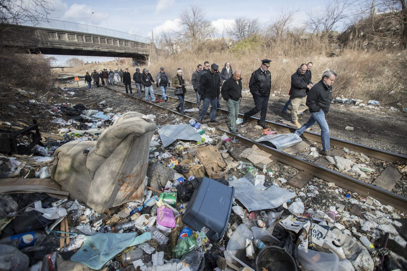 Conrail deal should inspire Philly to attack other heroin habitats