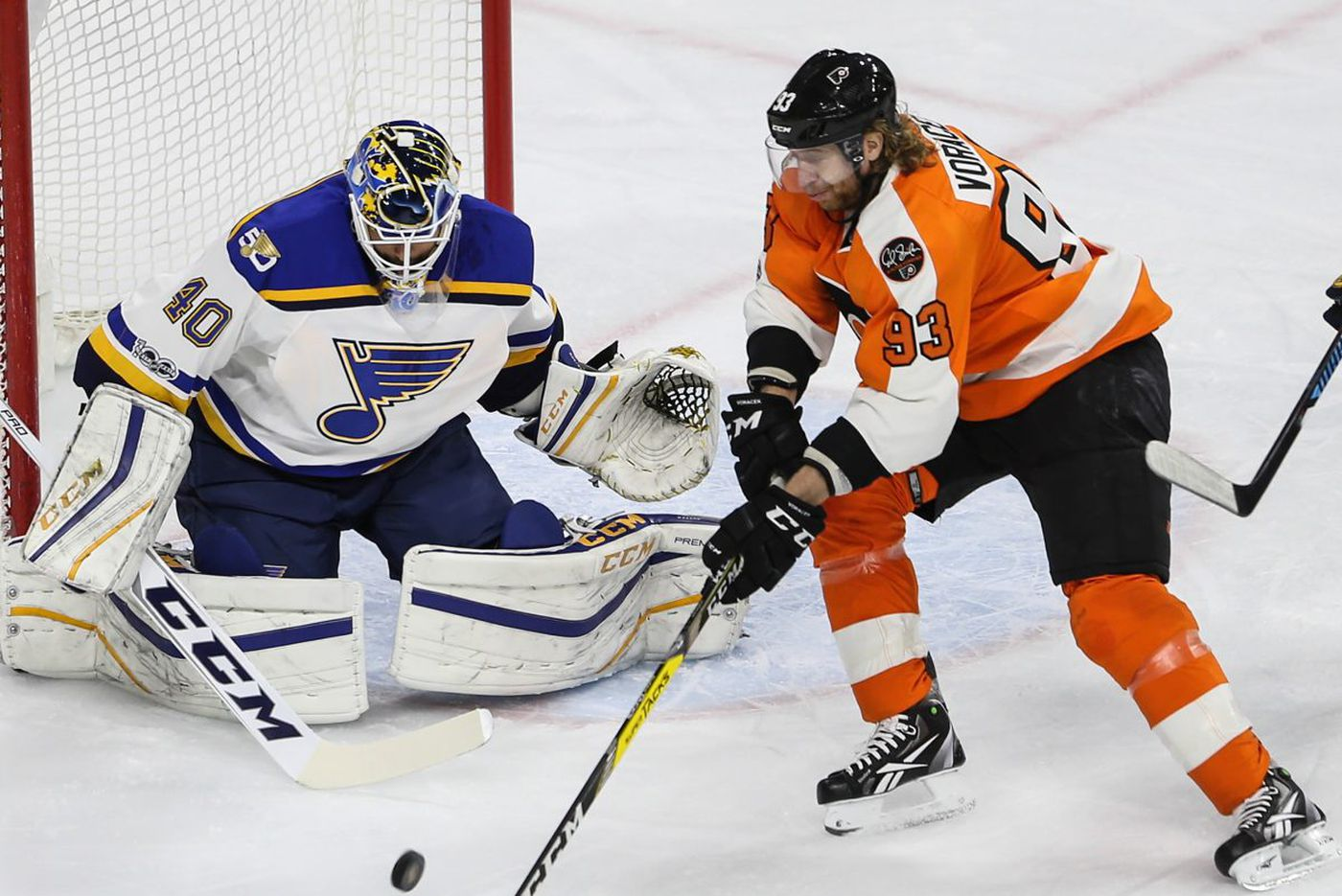 Flyers-Blues preview: Philly trying to snap St. Louis' win streak