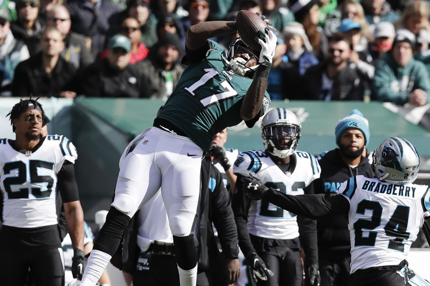 Panthers 21, Eagles 17 — as it happened
