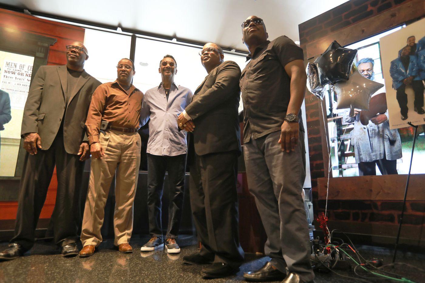 Stevie Wonder helps Philly gospel greats Dixie Hummingbirds celebrate their 90th