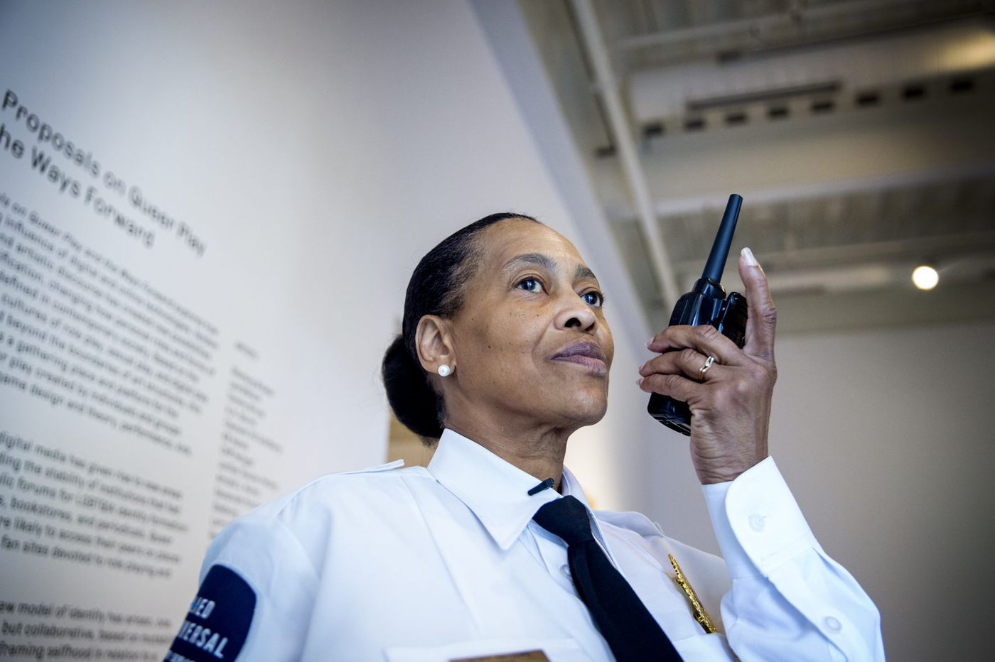 Grandma guards risqué exhibits at Penn's Institute of Contemporary Art | We the People