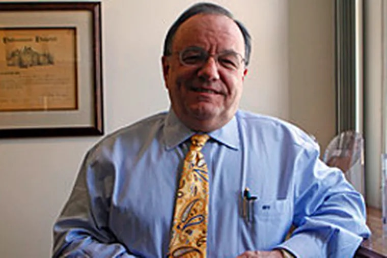 Michael Halter, chief executive officer of Hahnemann University Hospital, says he believes Tenet hospitals should be paid like Philadelphia's other academic medical centers. (Bonnie Weller/Inquirer)