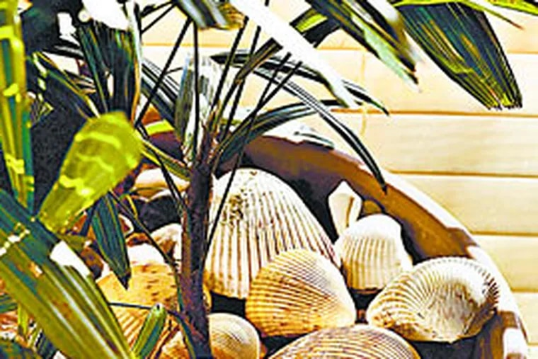 There are many ways to bring the beach home - through color, themes, collections and more.
