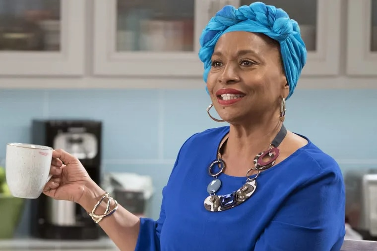 """Jenifer Lewis as Ruby in a scene from ABC's """"Black-ish."""" Her new book, """"The Mother of Black Hollywood: A Memoir,"""" will be published Tuesday."""