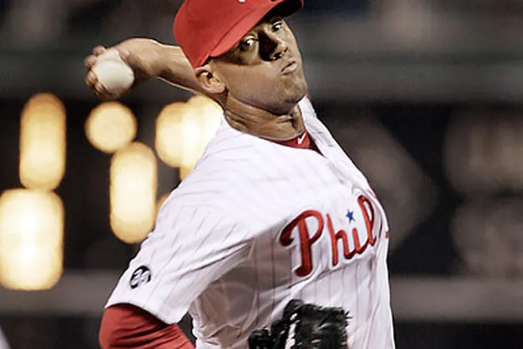 The Phillies could count on Antonio Bastardo, who was 2-0 with a 4.34 ERA in last season. (Elizabeth Robertson/Staff Photographer)