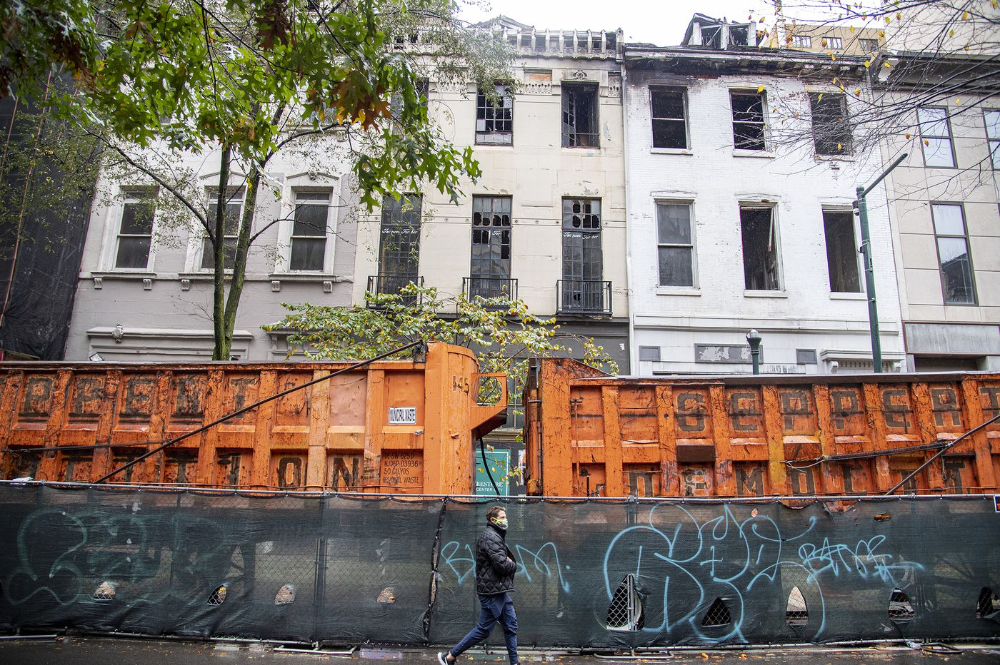 Philly officials recommend demolition of historic Rittenhouse Square buildings set ablaze amid unrest in May